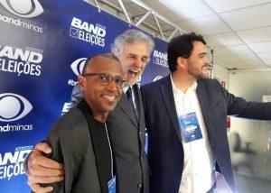 Na campanha pelo governo do Minas, em 2018